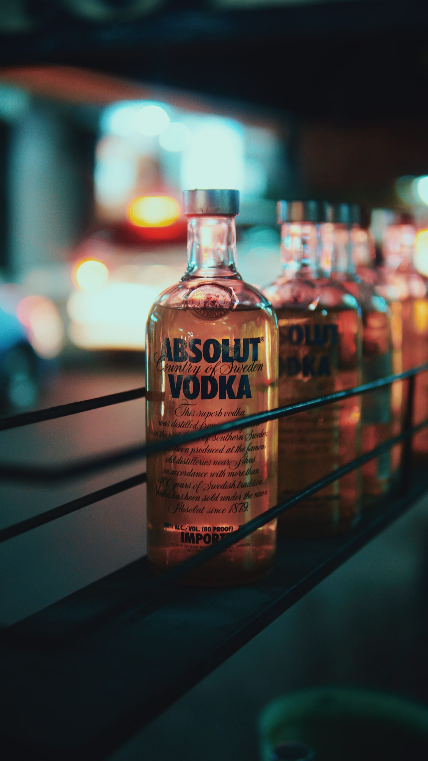 Absolut Vodka bottle lot